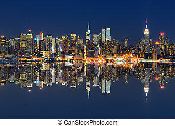New York City and reflections