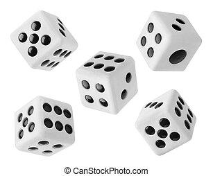 Gambling dices