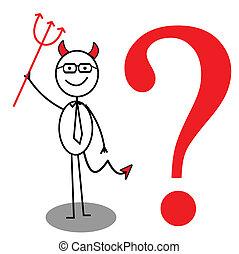 devil Businessman question