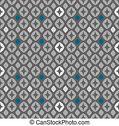 Seamless Retro Pattern 01 - Seamless retro pattern vector...