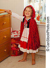 Little Red Riding Hood - Trying a Little Red Riding Hood...
