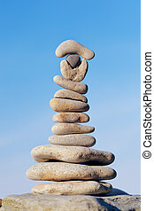 Equilibration of Stones