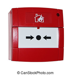 red alarm button