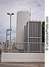 co2 gas tank - carbondioxide or CO2 with heat sink for CNG...