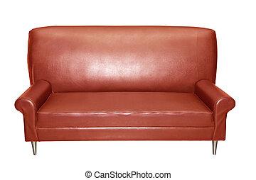 luxury red sofa