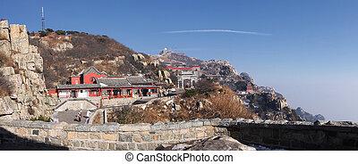 mount taishan top plateau shandong xhina