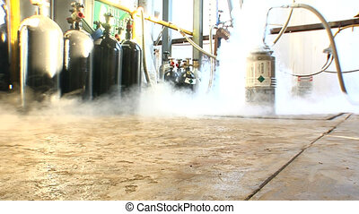 Liquid Nitrogen 2 shots - This is a liquid nitrogen tank...