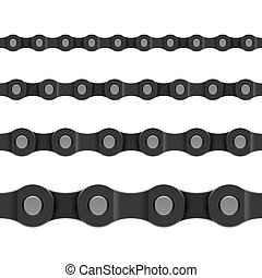 Seamless chain vector illustration