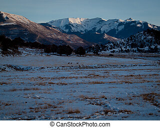 Dallas Divide - Spectacular Dallas Divide on a winter...