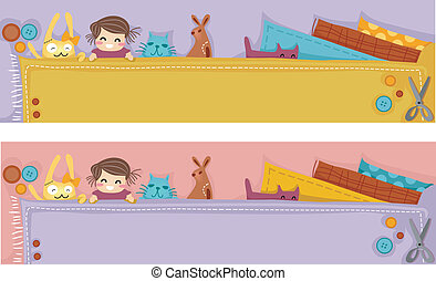 Plush Craft Header - Header Illustration Featuring Plush...