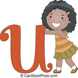 Letter Kid U
