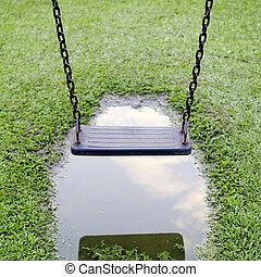 Swings, children - Swings, a playground for kids who like to...