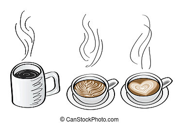 Cappucino Illustrations and Clipart. 259 Cappucino royalty free ...