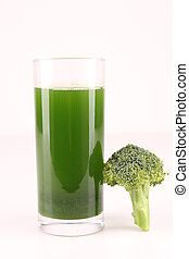 isolated green juice
