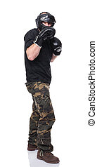 caucasian fighter