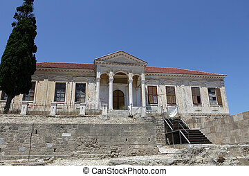 In the old city of Rodos