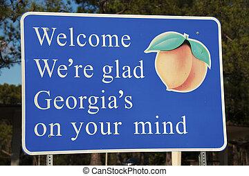 bem-vindo,  Geórgia