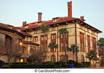 St Augustine historic architecture - Flagler College