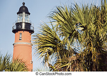 Ponce de Leon Inlet Lighthosue in Ponce Inlet, Florida