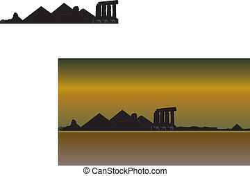 Luxor skyline - luxor skyline
