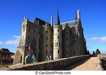 Gaudi, palacio, (Astorga, Spain)