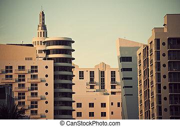 Miami Beach architecture - Miami Beach art deco architecture...