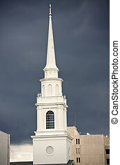 Church in Sarasota - Church in downtown of Sarasota,...