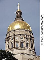 建物, ジョージア, 国会議事堂,  -, 州, アトランタ