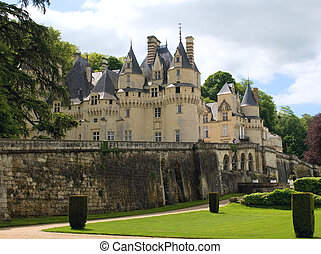 Château d'Usse - Castle Usse. Loire Valley, France