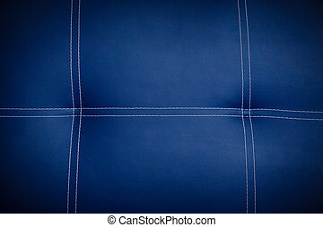 Leather texture - Natural blue leather texture background...