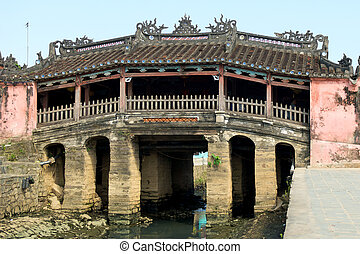 Japanese Bridge - Japanese bridge in Hoi An, Vietnam