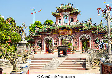 Chinese temple - Phuc Kien Assembly Hall, Hoi An, Viet Nam