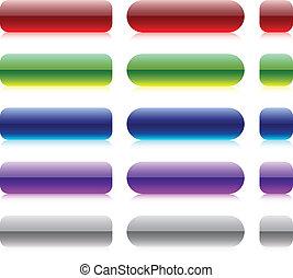Bar blank buttons.