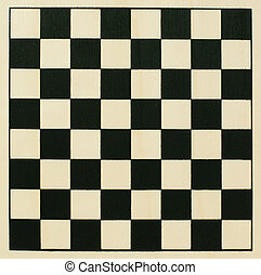 Chessboard - Empty wooden chessboard