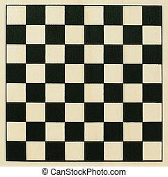 Chessboard - Empty wooden chessboard