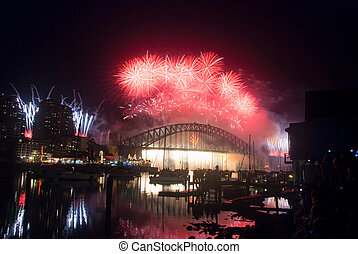 Sydney Harbour New Year's Eve NYE Fireworks