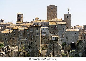Vitorchiano, old town - Vitorchiano (Viterbo, Lazio, Italy),...