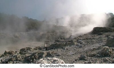 Hells gate 1 - Hells Gate geothermal attraction is Rotoruas...