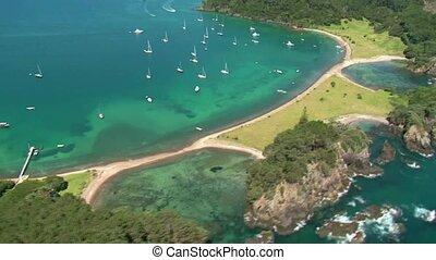 Roberton Island 1 - A scenic flight over the Bay of Islands,...