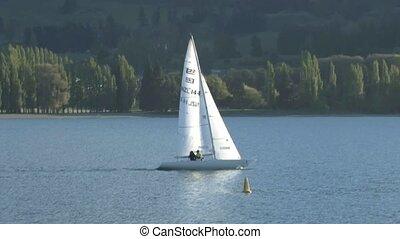 Sailing - sailinig on Lake Wanaka