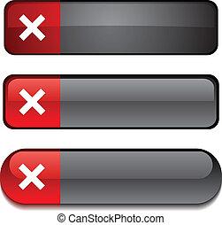 Abort  button set.