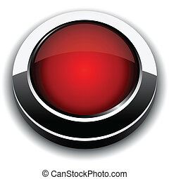 Red 3d button.