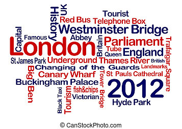 London 2012 - London Word Cloud