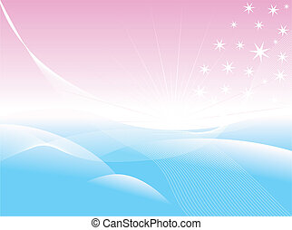 Tenderness. [Vector] - Beautiful abstract background. Vector...