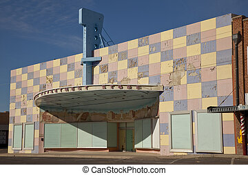 Abandoned Department Store - Abandoned department store in...