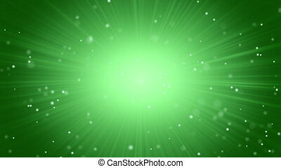 green light abstract background - green abstract motion...