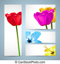 Flower Brochure Nature Template