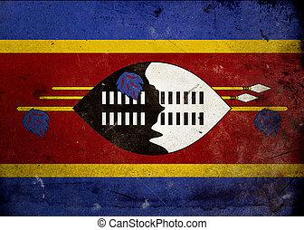 Grunge Flag Swaziland