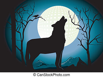 Wolf in the Night
