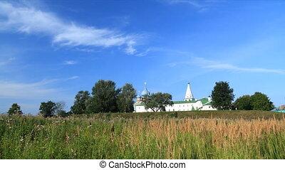 Kremlin in Suzdal timelapse - Suzdal , Russia